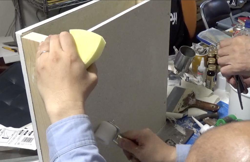 壁の穴補修:手順14