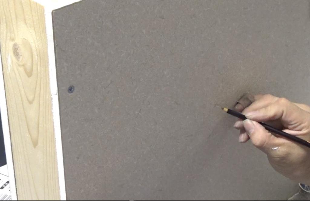 壁の穴補修:手順15