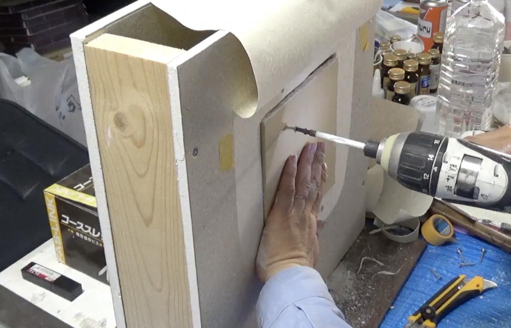 壁の穴補修:手順8
