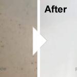 洗面台の傷補修/施工事例