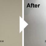 キッチンパネルの穴の補修/施工事例