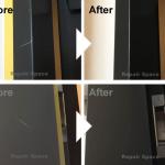ドアの傷の補修/施工事例