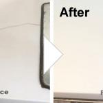 キッチン台のクラックの補修/施工事例