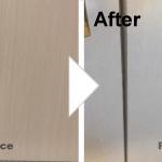 扉の穴の補修/施工事例