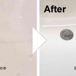 洗面台の傷の補修/施工事例