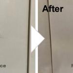 キッチン扉の傷の補修/施工事例