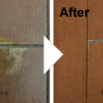 フローリングの傷の補修/施工事例
