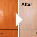 扉の凹み補修/施工事例