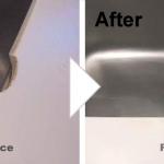 キッチン天板の欠け補修/施工事例