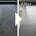キッチン天板のシミ補修/施工事例