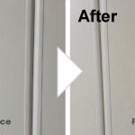 扉の傷補修/施工事例
